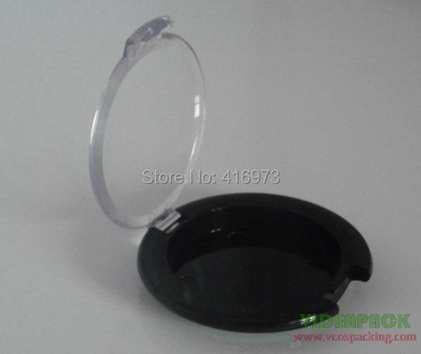 200pcs lot plastic empty eyeshadow case 5g dia 38mm compact container for eye shadowpress powder