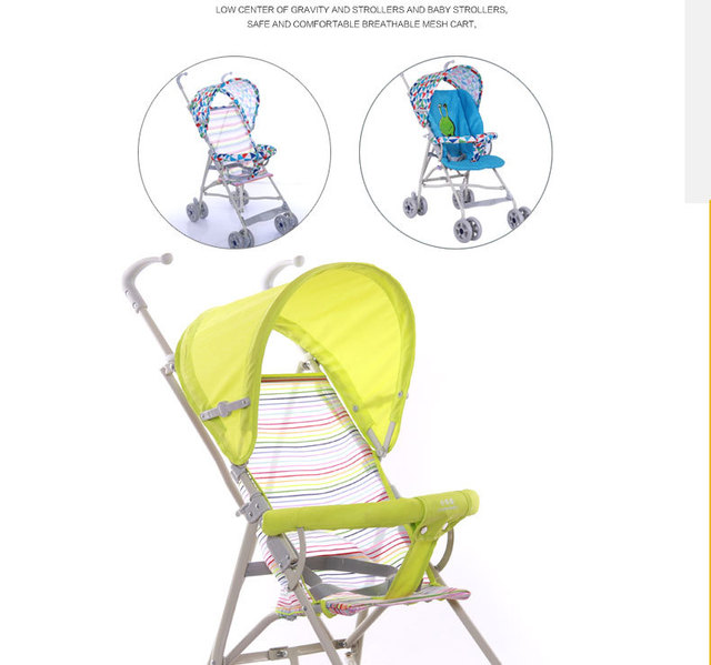 2017 Детские Коляски Четыре колеса Портативный детские Тележки Сложить в Двух Направлениях можно Сложить Коляску YD138