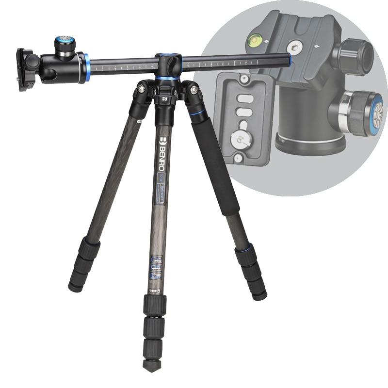 DHL Free Shipping Benro GC168TV1 Carbon Fiber Tripod Monopod For Camera V1 Tripod Head 4 Section Carrying Bag Max Loading 14kg