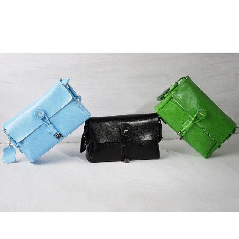 green light Épaule Cuir Mini En Messager Femmes Filles De Chaude Vente Blue Black Bandoulière Lady Sac Petit Style Mode Geniune Rabat Simplement H1Sx86