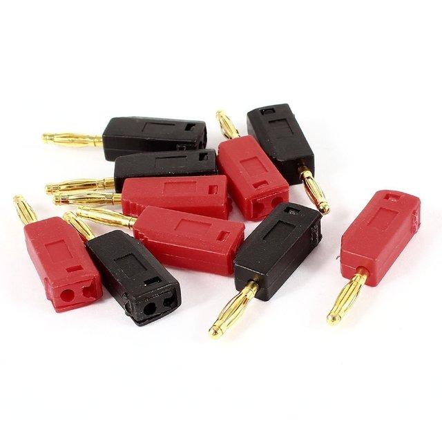 Lautsprecherkabel kabel 2mm bananenstecker anschluss 10 blatt ...