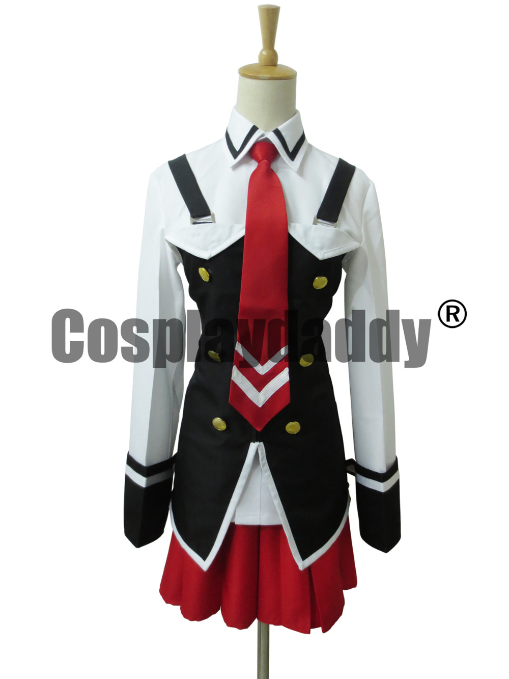 Bible Black Uniform Cosplay Costume