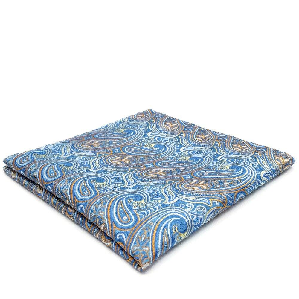 Multicolor Silk Jacquard Woven Mens Hanky Wedding Fashion Pocket Square Set Colorful Handkerchief