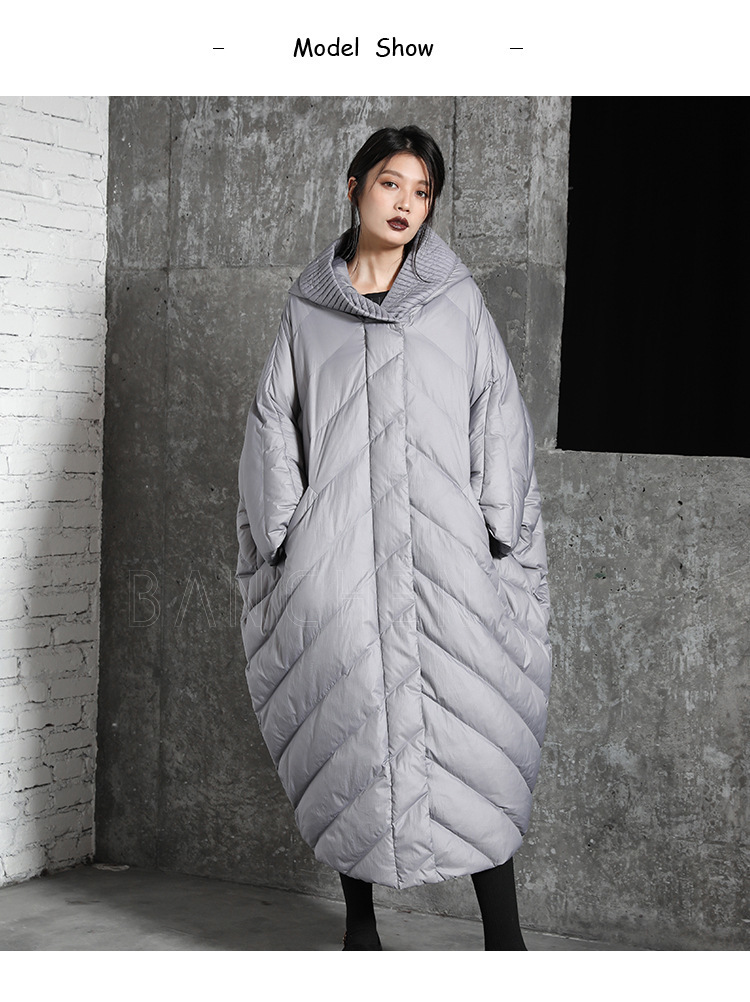 Mulher Causal Plus Size Com Capuz Solto Outerwear Roupas Okd678