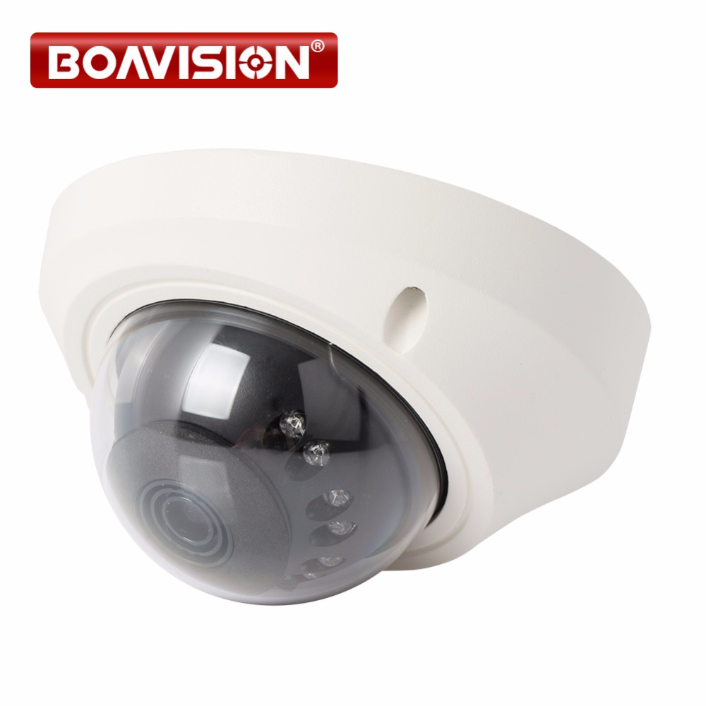 Onvif HD 1080P IP Camera Vandalproof 720P Mini Dome CCTV Security Camera 1.0MP / 2MP Night Vision P2P Cloud Android View