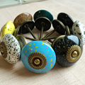 39mm Flying saucer Cabinet Knobs Kitchen Cupboard door Knobs Imitation Ceramic Acrylic Closet Dresser Drawer Handles Pulls