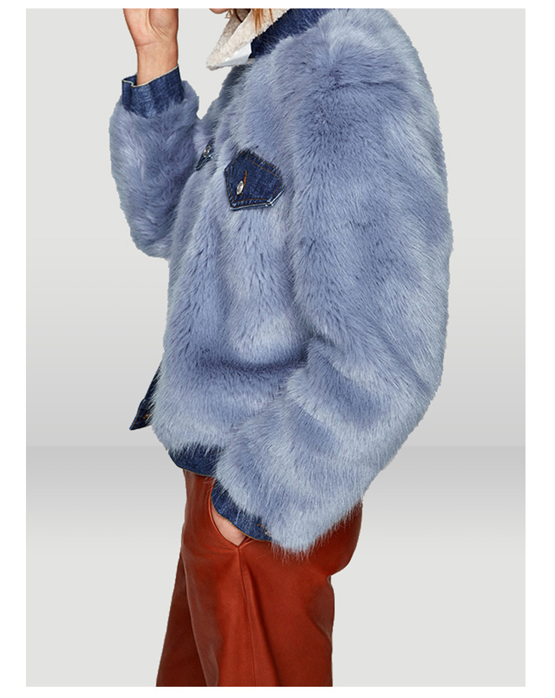 Fur Made Fox Coats Coat Picture Faux Jackets Patchwork Size Customer Fake Plus Winter Women Wq598 Vest Gilet Jacket 6fqE4nn