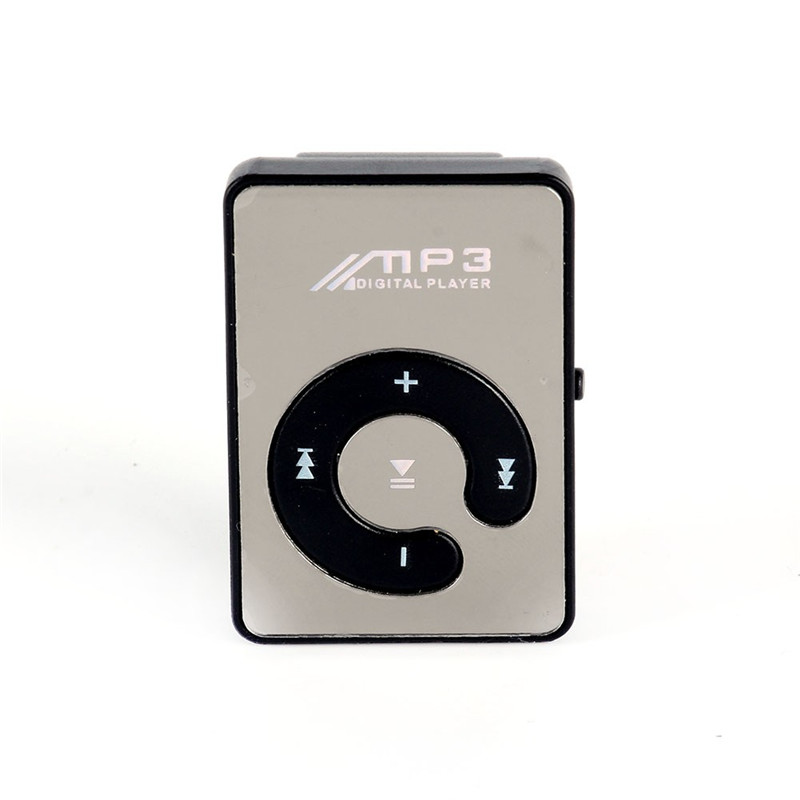 2017 No Screen MP3 Clip Plugin Card Smart Music Player Portable Sports Leisure Perfect Sound MP3 Player Memory Play