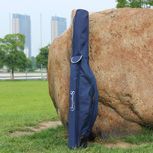 Sougayilang Fishing Bag 1.7m/5.58FT Large Folding Capacity Fishing Rod Bag 2 Layers Travel Outdoor Sport  Fishing Tackle Bag
