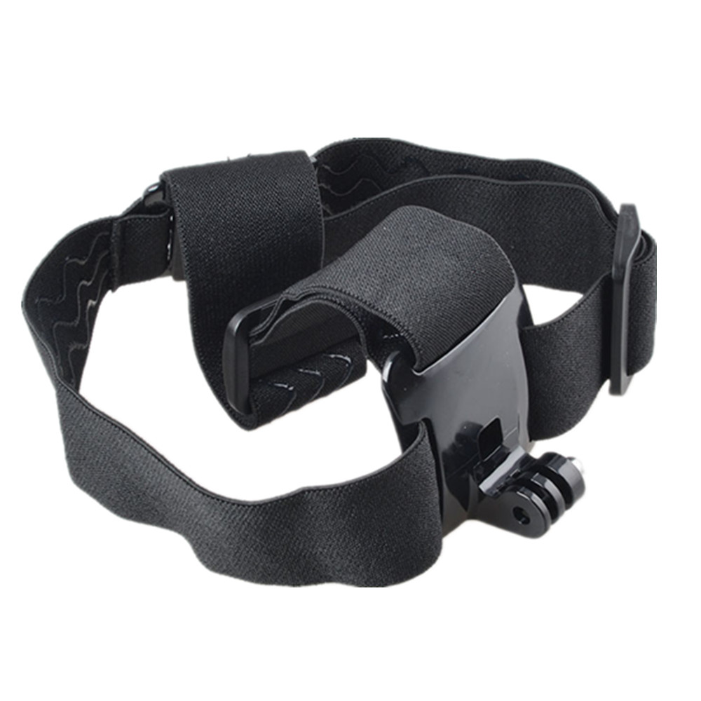 Action Camera Headband Head Strap Monopod For SJCAM SJ4000 SJ5000 Gopro Hero 4 Mount Tripod Helmet