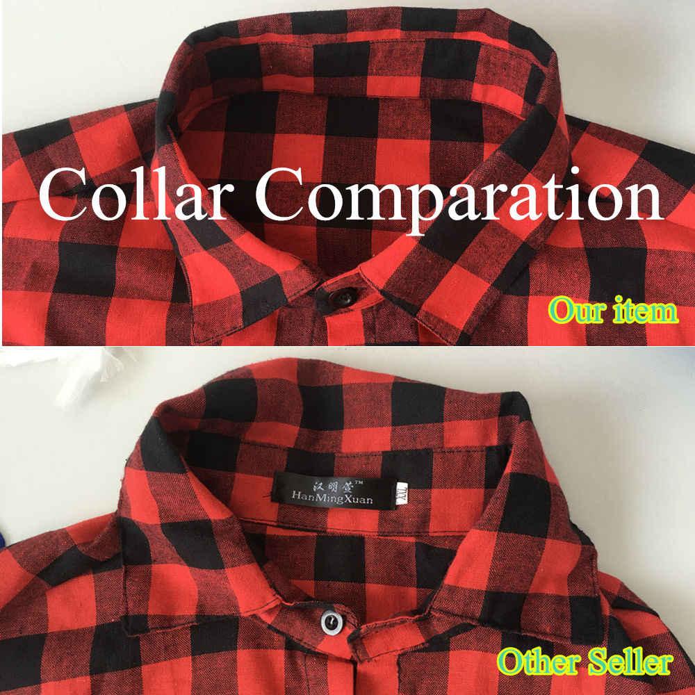 a9c2bbb87b ... Rojo y negro camisa a cuadros camisa hombres camisas 2019 nuevo verano  de moda de primavera ...