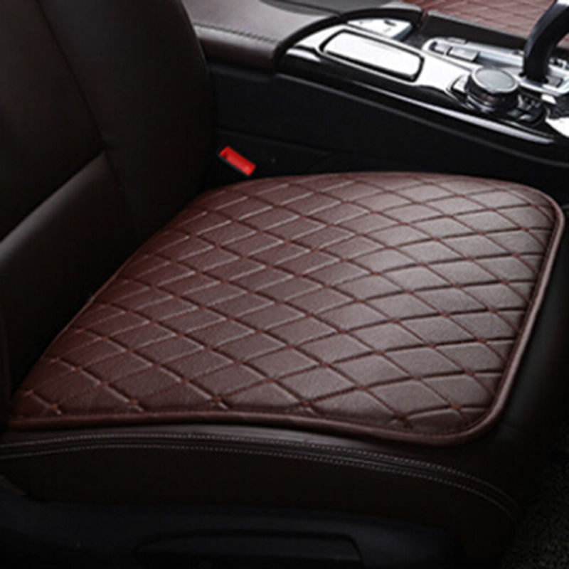 50*52cm Car Front Seat Covers Cotton Breathable Pad Half Surround Mat for Auto Chair Cushion