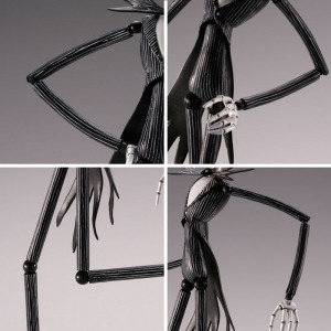 Image 5 - SCI FI Revoltech Series NO.005 The Nightmare Before Christmas Jack Skellington PVC Action Figure Collectible Model Toy