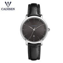Cadisen C2015 Fashion Women Watches Analog Quartz Ladies Watch PU Leather Dress Clock Calendar Wrist Watch Relogio Feminino цена
