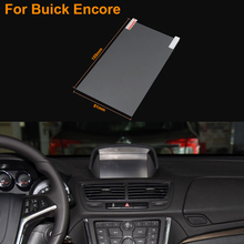 Car Styling 7 Inch GPS Navigation Screen Steel Protective Film For Buick Encore Control of LCD Screen Car Sticker