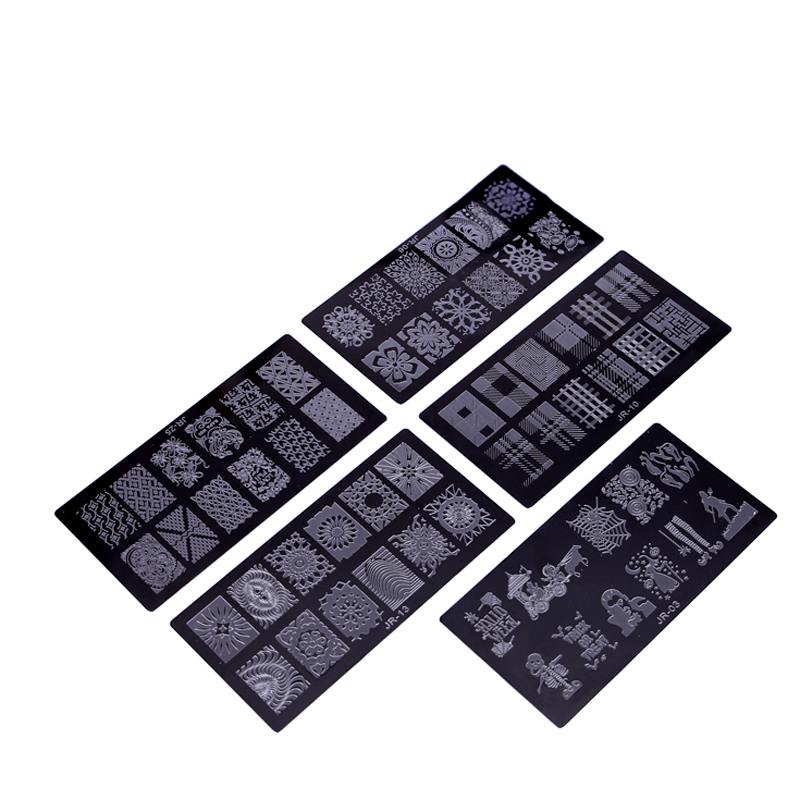 New-1Pc-High-Quality-JR-Nail-Stamping-Plates-Stainless-Steel-Image-Stamping-Nail-Art-Manicure-Template (3)