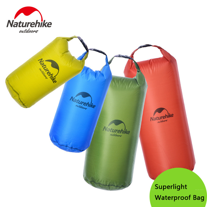 Naturehike Lightweight Dry Seack New Portable Waterproof Bag Diving Storage Dry Bag Canoe Kayak Rafting Sports Outdoor Bags