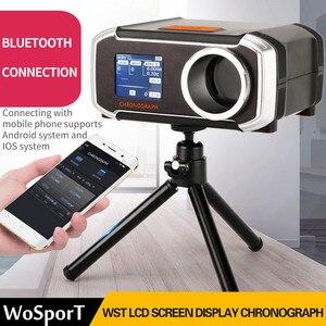 Image 2 - WoSporT Schießen Chronograph Speed Tester Unterstützung Bluetooth APP ISO Taktische Airsoft BB Guns Paintball Zubehör