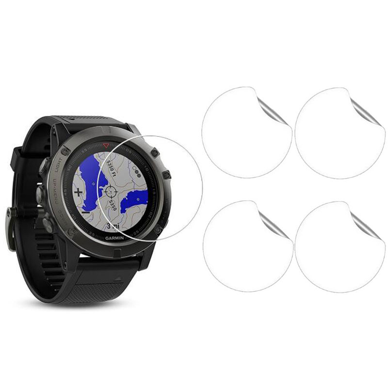 Ultra Clear HD Soft Protective Film Guard For Garmin Fenix 5X Fenix5x Display Protection Full Screen Protector Cover(Not Glass)