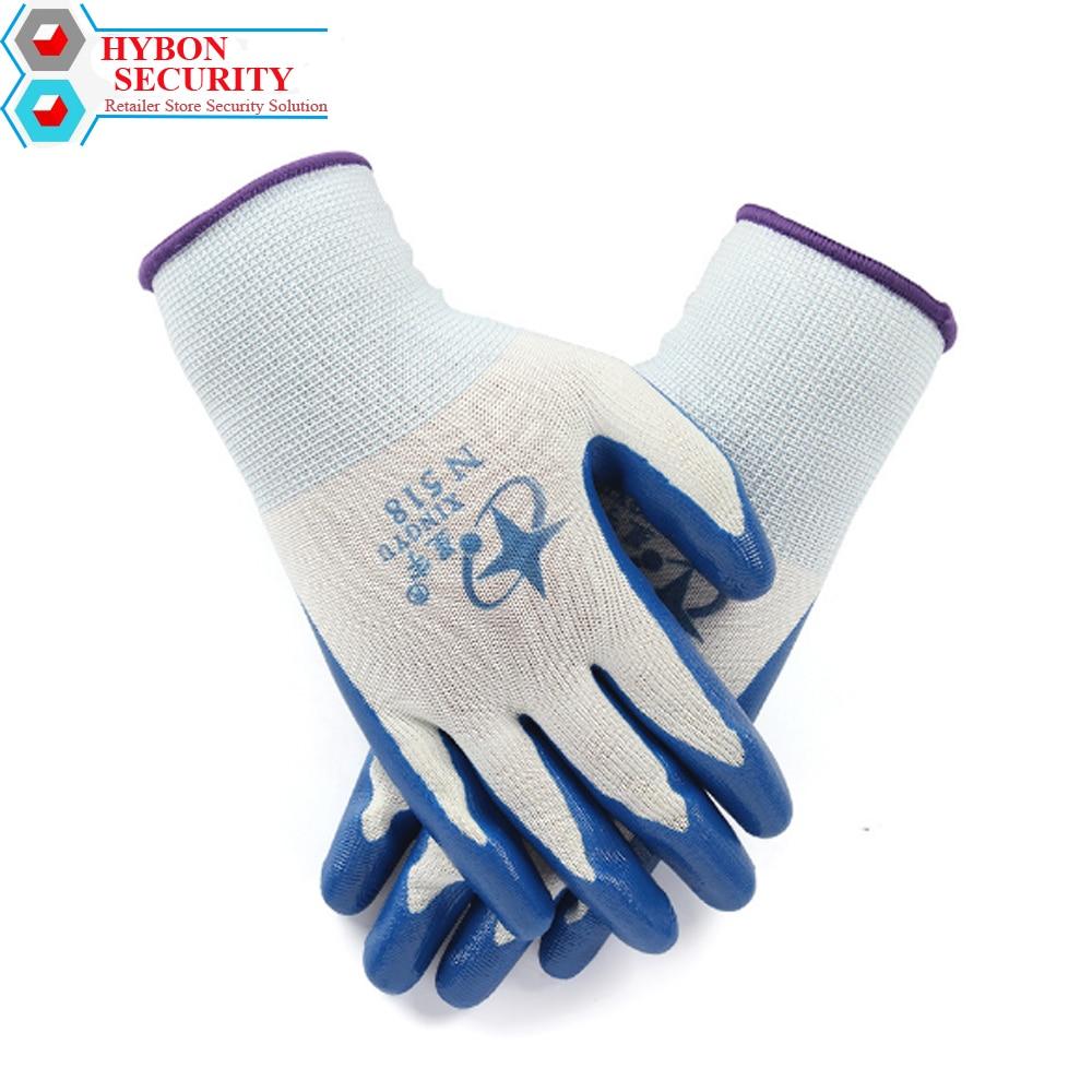 Hybon 1/par luvas de segurança de trabalho corte-resistente anti corte luva auto difence guantes anticortante fio butcher anti-corte luvas