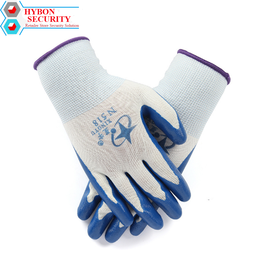 HYBON 1/Pair Working Safety Gloves Cut-Resistant Anti Cut Glove Self Difence Guantes Anticorte Wire Butcher Anti-Cutting Gloves