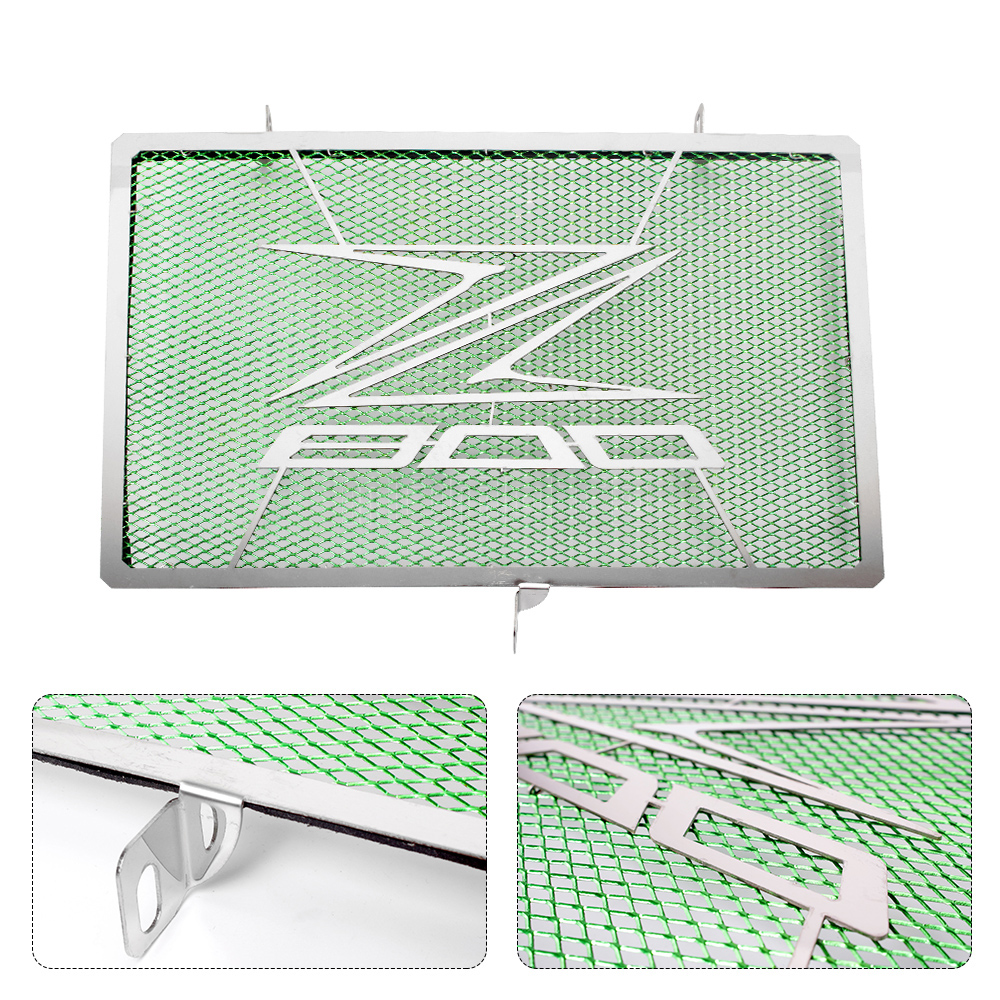Z800 Motorcycle Stainless Steel Radiator Guard Protector Grille Grill Cover For Kawasaki Z800 Z 800 Accessories Parts arashi motorcycle radiator grille protective cover grill guard protector for 2008 2009 2010 2011 honda cbr1000rr cbr 1000 rr