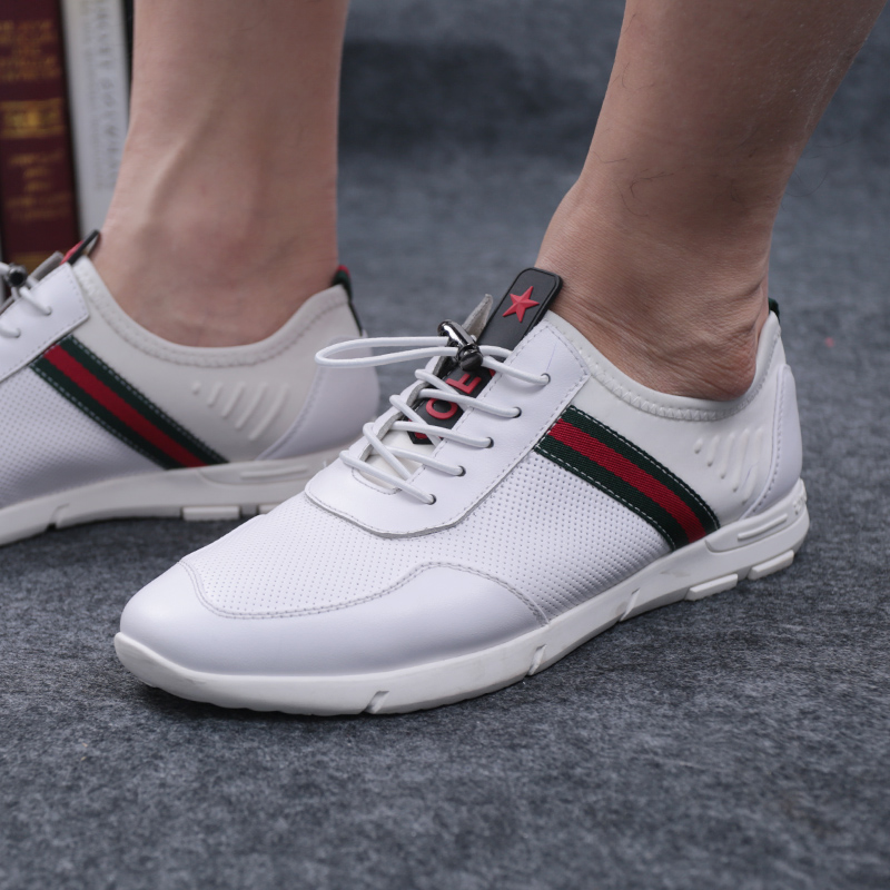 SHUANGFENG Men Casual Shoes Genuine Leather Man Shoes 2018 Summer - Men's Shoes - Photo 2