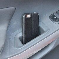 2 шт./компл. автомобиля ABS подлокотник-органайзер двери коробка для хранения коробки с ручками чехол для Ford Ecosport 2012-2016 Запчасти Аксессуары