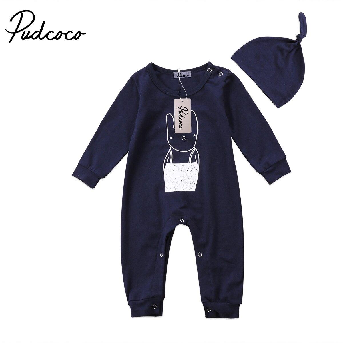 Affidabile Newborn Baby Boy Ragazze Coniglio Pagliaccetto Vestiti Di Cotone Outfit Tuta Tuta Bambino Vestiti Del Bambino Vestiti Del Bambino