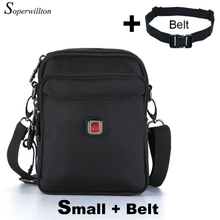Soperwillton Brand Men's Bag Messenger Bag Waterproof Men Purse Oxford 1680D Zipper Bag Crossbody For Male DropShipping #1052