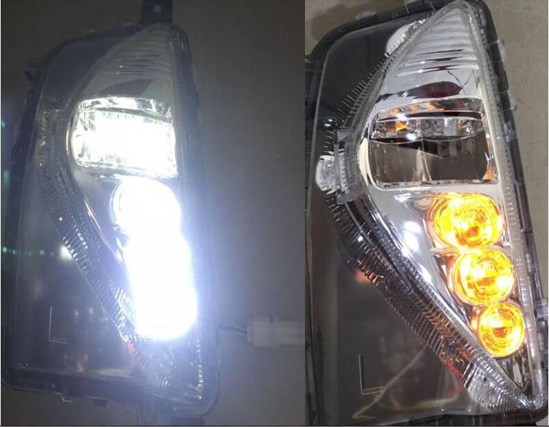 Prius fog light ,Prado,prius day light,cruiser,2016~2017year;Free ship! Prius daytime light,2pcs ;LED,Prius headlight