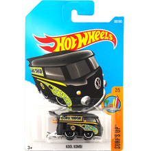 2017 N Hot Wheels 1:64 Black Kool Kombi Metal Diecast Cars Collection Kids Toys Vehicle For Children Juguetes(China)