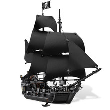 804 pièces la perle noire bateau Legoings bloc de construction ensembles jouets meilleur cadeau pour enfants anniversaire LegoING Pirates des caraïbes