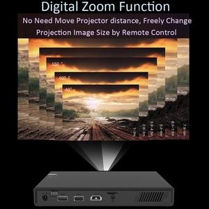 Image 3 - Smartldea T5 HD 4K 3D DLPโปรเจคเตอร์แบตเตอรี่ZOOM,Keystoneอัตโนมัติ,android 6.0 WIFI LEDสมาร์ทProyector Bluetooth AirPlay