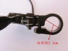 STARPAD do elektrycznych samochód lewy uchwyt hamulca wyłącznik z antypoślizgową uchwyt hamulca modyfikacji linii zestawy elektryczne akcesoria samochodowe