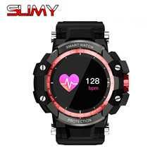 Viscoso GW68 Relógio Inteligente Relógio Do Esporte Ao Ar Livre IP67 À Prova D' Água Heart Rate Monitor de Pressão Arterial Do Bluetooth 4.0 Para IOS Android