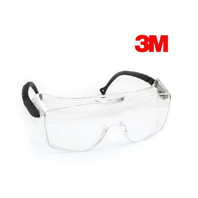 3M 12308 Anti Fog Protective Goggles Safety Eyes Wear Glasses Wear with Nearsighted Glasses G2309