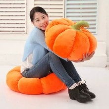 18/28/38/58cm Soft Halloween Pumpkin Pillow Squishy Soft Toys For Halloween Decorations(China)