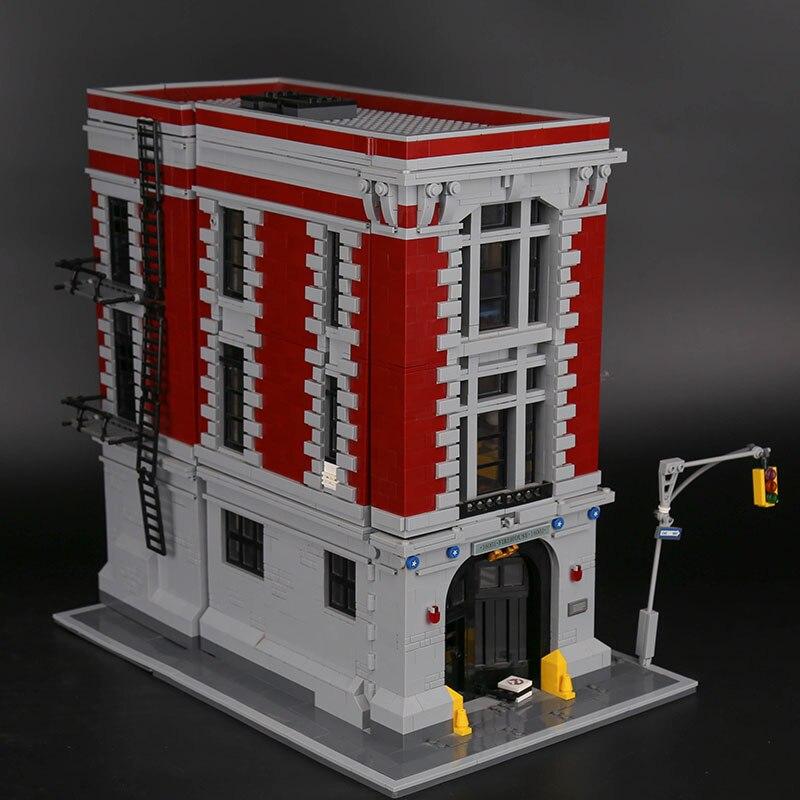 Oyuncaklar ve Hobi Ürünleri'ten Bloklar'de 16001 Ghostbusters Firehouse genel merkezi Seti ile uyumlu 75827 Blokları Çocuklar Oyuncaklar Çocuklar Için Cadılar Bayramı Noel Hediyeleri'da  Grup 3