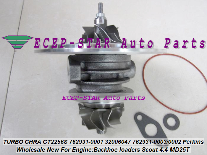 Turbo Cartridge CHRA GT2556S 762931 762931-5001S 762931-0001 Turbocharger For Perkin Backhoe loaders JBC Agricultural Scout 4.4L (1)
