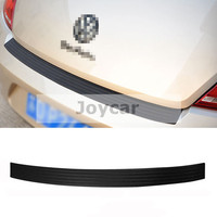 FOR VW VOLKSWAGEN NEW BEETLE REAR BUMPER ANTI SCRATCH RUBBER GUARD PROTECTION COVER STICKER CAR ACCESSORIES