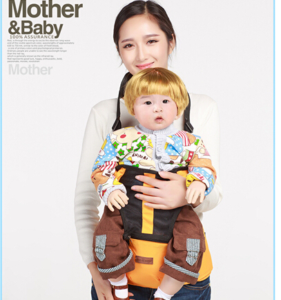 Baby carrier sling Four Seasons breathable baby waist stool multifunctional oblique shoulders back seat baby stool New arrival