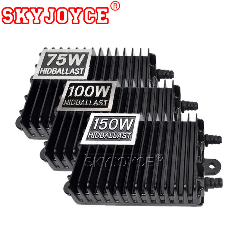 SKYJOYCE 12V 75W 100W 150W AC Digital Electronic Ballast Blocks for Xenon Headlight Lamp H1 H3 H7 H11 9005 9006 HID Xenon Bulb