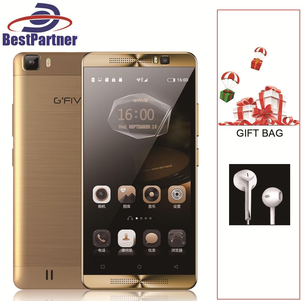 Original Gfive L3 MobilePhone 5 5 inch 5000mAh 2GB RAM 16GB ROM MT6580M Quad Core Android