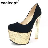 Women Platform High Heel Shoes Escarpin Party Spring Zapatos Mujer Footwear Fashion Heeled Pumps Heels Shoes
