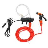 Portable Water Pump Cigarette Lighter High Pressure 12V Spray Gun Car Cleaner Self Suction Electric Car Washer