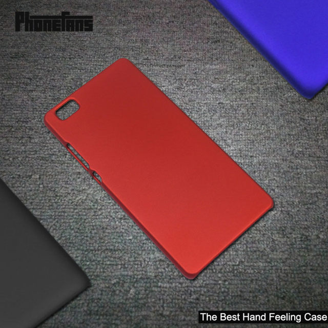 For Huawei P8 lite / Huawei ALE-L21 Case Anti-fingerprint Coating Frosted Cover Rubber Paint Cases Hard PC Phone Bags
