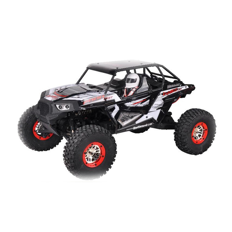 Professional Led Headlignt Racing RC Rock Crawler truck 10428 B2 2 4G 1 10 50KM 4WD
