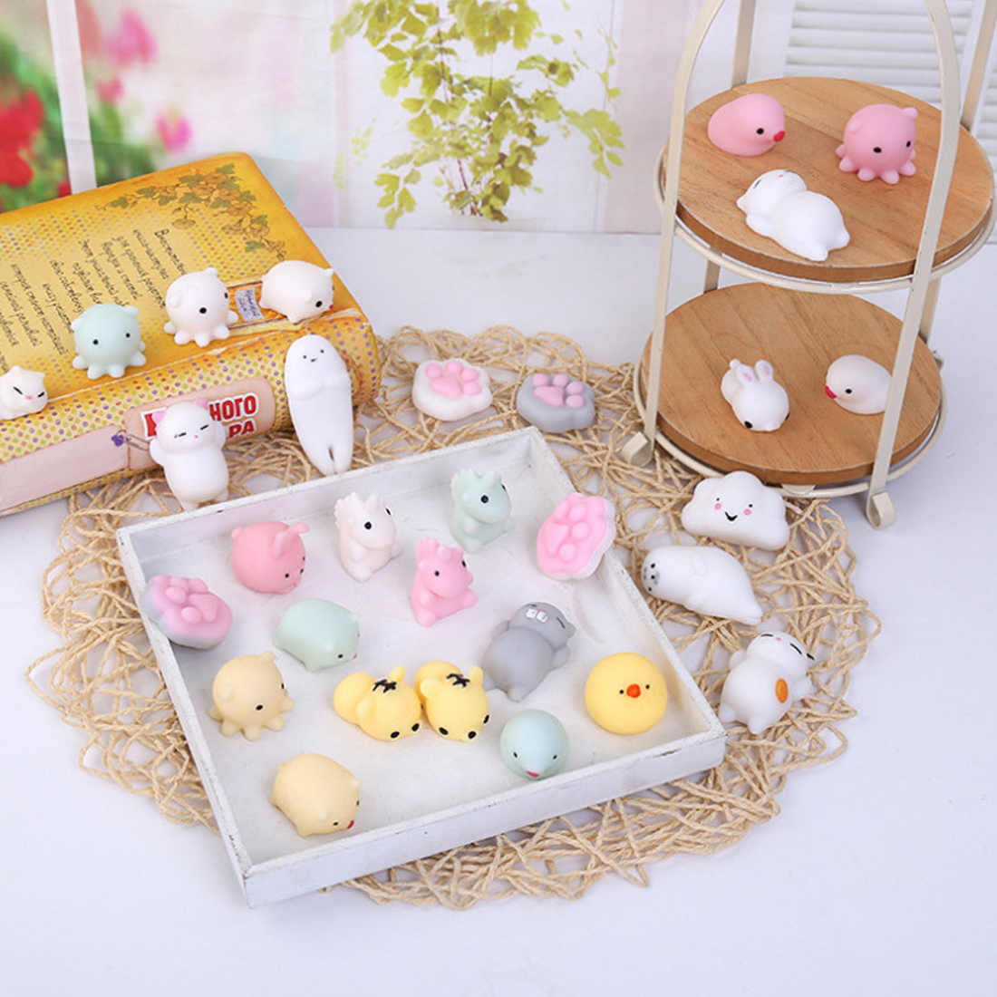 Mobile Phone Accessories Simulation Cat Seal Lazy Cat Phone Straps Slow Rising Soft Press Squeeze Kawaii Bread Cake Kids Toy Phone Accessories Mobile Phone Straps