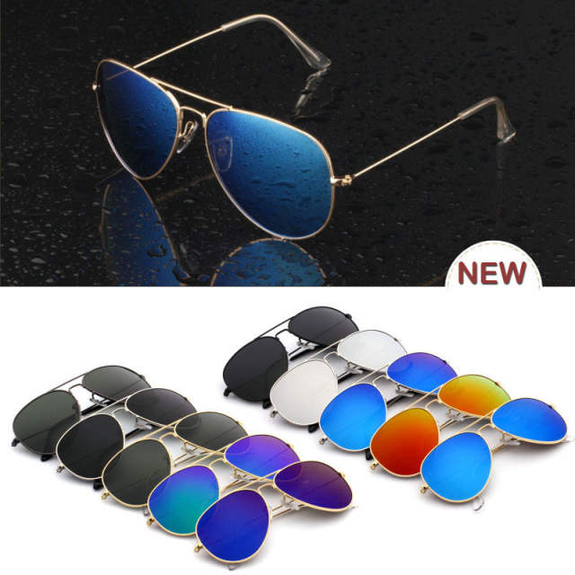375c92e3b4faf 2015 Hot Aviators Mens Sunglasses Retro Vintage Shades Classic Stylish  Brand Eyewear Perfect for Casual Oval